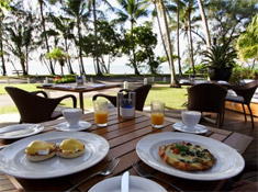 Palm Cove Resort Breakfast