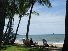 Palm Cove the ideal beachfront location