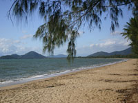 Palm Cove Beach - South View